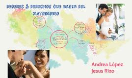 Copy of Deberes & derechos que nacen del matrimonio