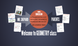 Welcome to GEOMETRY class! 2018