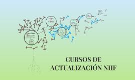 CURSOS DE ACTUALIZACIÓN NIIF