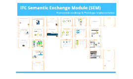 IFC Semantic Module Exchange