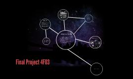 Final Project 4F03