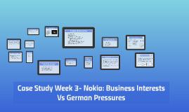 business interests vs german pressures