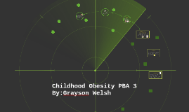 Childhood obesity PBA 3