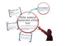 How natural resources affect war