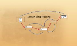 Lesson Plan Writing