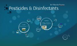 Disinfectants & Pesticides