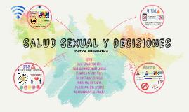 SALUD SEXUAL y decisiones