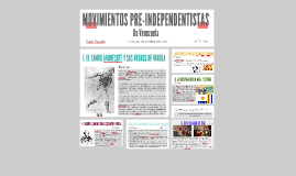MOVIMIENTOS PRE-INDEPENDENTISTAS