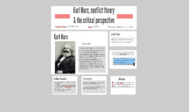 Karl Marx, conflict theory