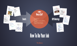 How to do your job