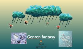 Genren fantasy