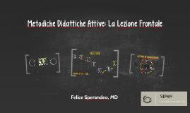 SIPeM ROI - Felice Sperandeo - metodiche didattiche attive la lezione frontale