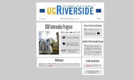 UCR Internship Program