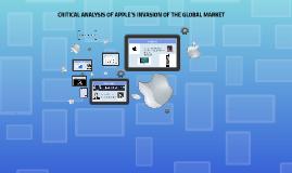 Apple Eyup's Presentation