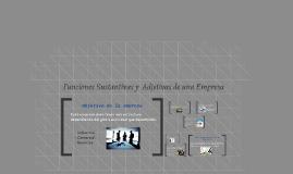 Copy of Funciones Sustantivas y  Adjetivas de una Empresa