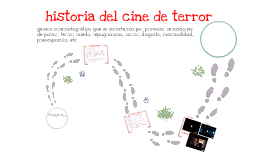 historia cine del terror