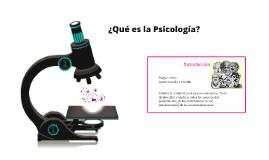 ¿Qué es Psicología?_ Tema 1