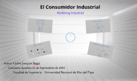 Comportamiento Comprador Industrial Concurso cátedra Marketing 2015