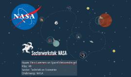 Sectorwerkstuk: NASA