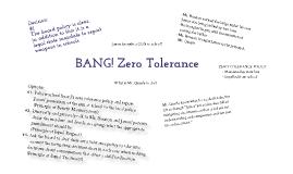 BANG! Zero Tolerance