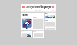 Scout organization of Kaluga region