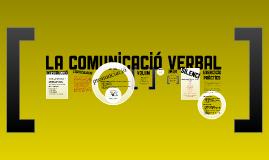 LA COMUNICACIÓ VERBAL