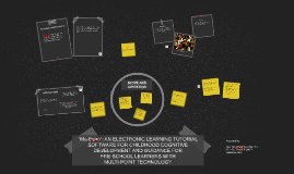 """""""Ma-Estro"""": AN ELECTONIC LEARNING TUTORIAL SOFTWARE FOR CHIL"""