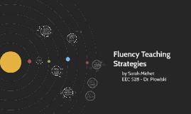 Fluency Teaching Strategies