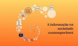 ICI A34 A informação na sociedade contemporânea