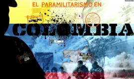 EL  PARAMILITARISMO EN