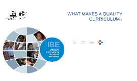 What Makes a Quality Curriculum?
