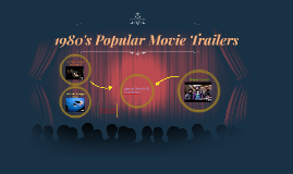 Copy of 1980's Popular Movie Trailers