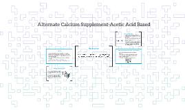 Alternate Calcium Supplements