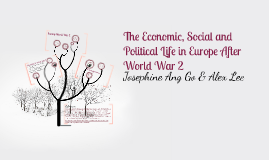 The Political and Social Life in Europe After World War II
