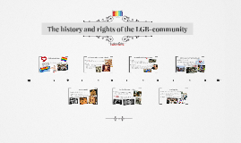 About the history of LGBT