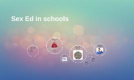 Sex Ed in schools