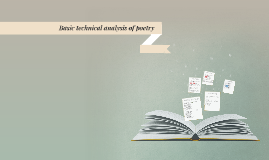 Basic technical analysis of poetry