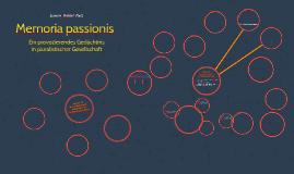Memoria passiones -