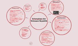 Krisenphase der Weimarer Republik