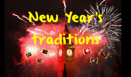 New Year's traditions