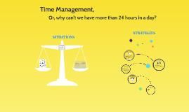Managing time: TA mentors meeting