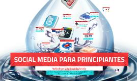 SOCIAL MEDIA PARA PRINCIPIANTES