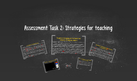 Assessment Task 2: Strategies for teaching