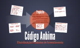 Aula 13 Cod. Anbima Produtos de Investimentos