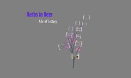 Copy of Herbs in beer