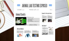 ANIMAL LAB TESTING