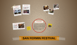 The festival of San Fermín in the city of Pamplona (Spain) i