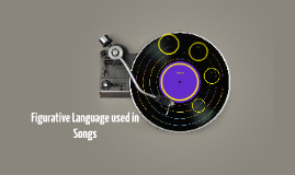 Figurative Language used in Songs