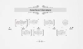 Copy of American Literature