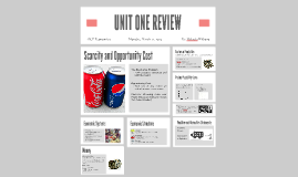 UNIT ONE REVIEW